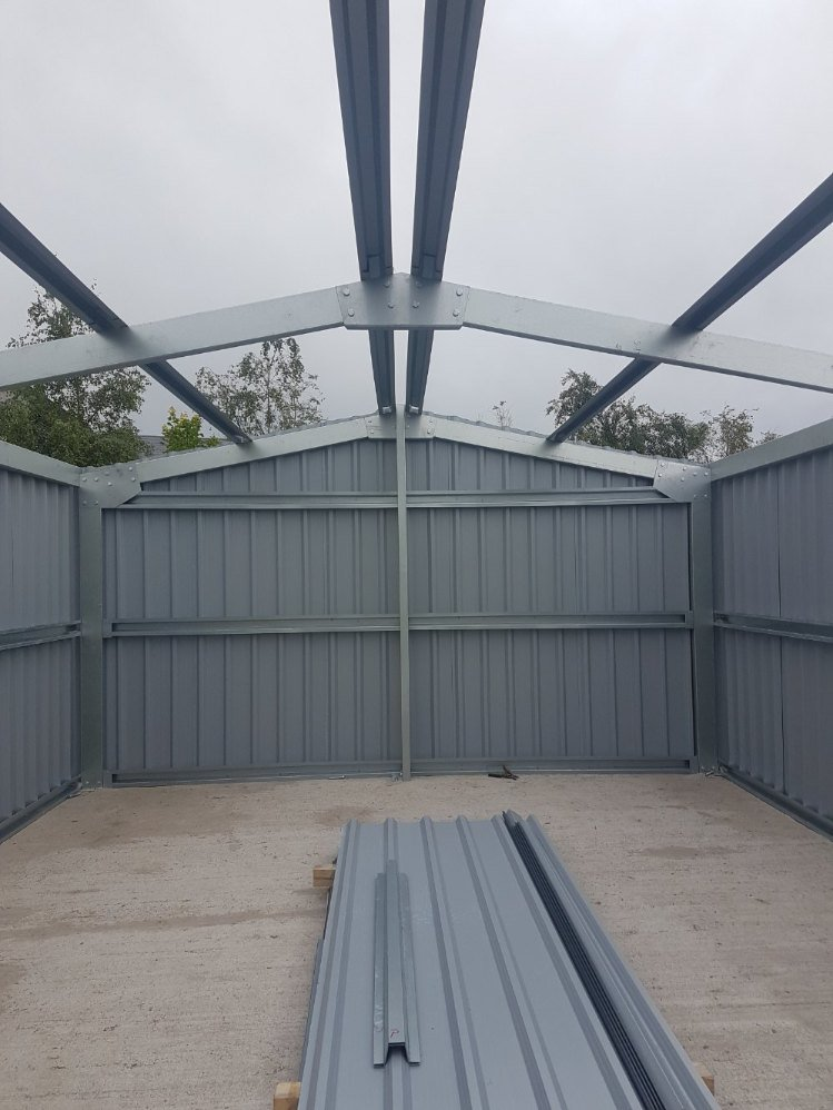 Trim any excess sheeting